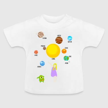 planet - Baby-T-shirt