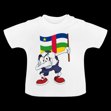 Centraal-Afrikaanse Republiek deppen Football - Baby T-shirt