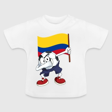Colombia Dabbing football - Baby T-Shirt