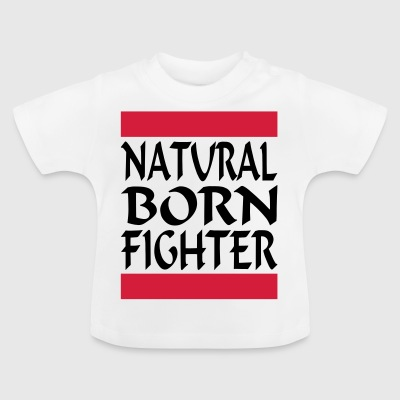 Natural Born Fighter 2 - Baby-T-skjorte