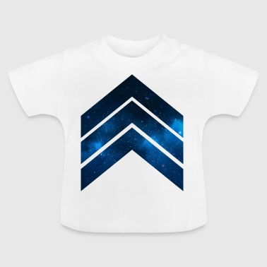 Blue Galaxy - Baby T-Shirt