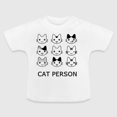 Katze Person - Baby T-Shirt