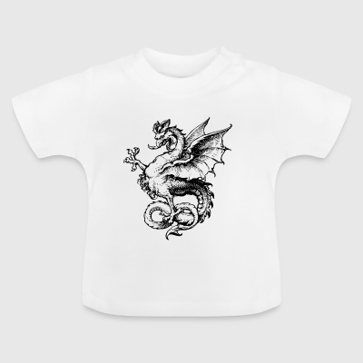 Traditionele Draak - Baby T-shirt