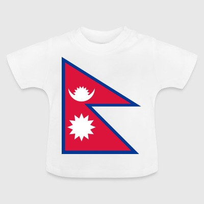 National Flag of Nepal - Baby-T-shirt