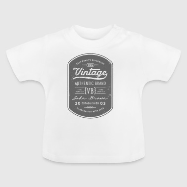 Vintage Authentic Brand - Baby T-Shirt