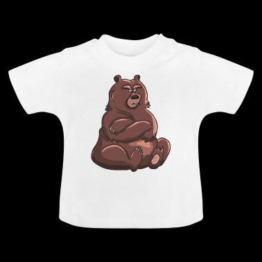 Bear Illustratie - Baby T-shirt