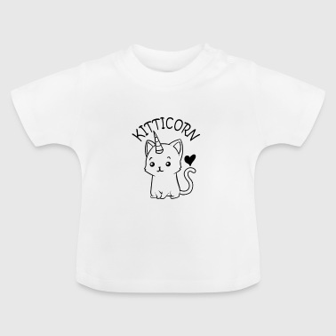 GATOS | KITTICORN - Camiseta bebé