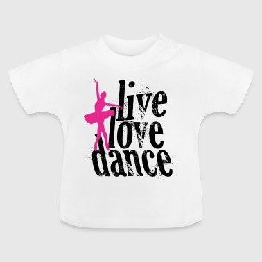 danse d'amour en direct - T-shirt Bébé