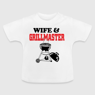 wife and grillmaster - Baby T-Shirt