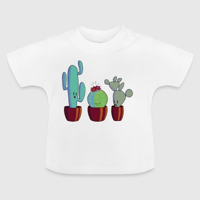 Cactus in bloom - Baby T-Shirt