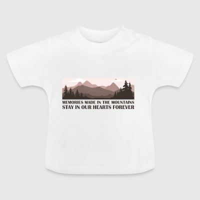 Mountain - Baby T-Shirt