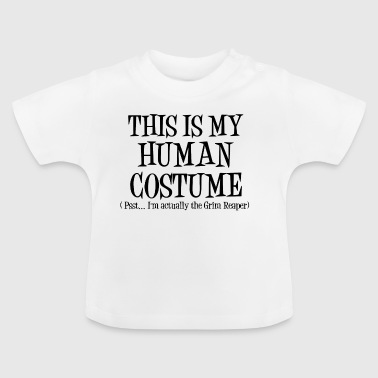 Costume humain GrimReaper Halloween Costume - T-shirt Bébé