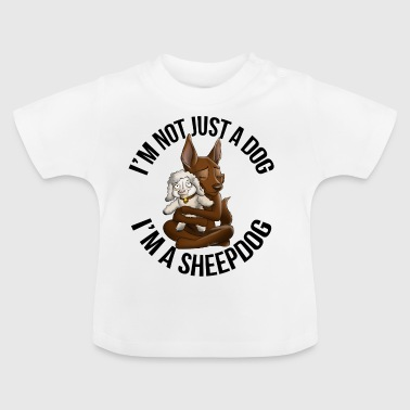 Kelpie Sheep chocolade - Baby T-shirt