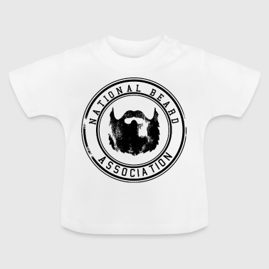 National Association baard / snor Snor 1c - Baby T-shirt