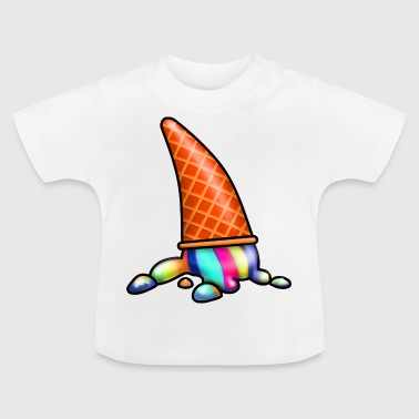 Ice colorful broken - Baby T-Shirt