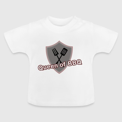 Queen of BBQ - Baby T-Shirt