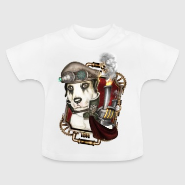 Steampunk Dog # 1 - T-shirt Bébé