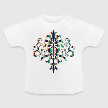 Damask Muster - Baby T-Shirt