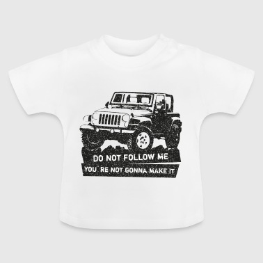 Jeep SUV shirt off-road - Maglietta per neonato