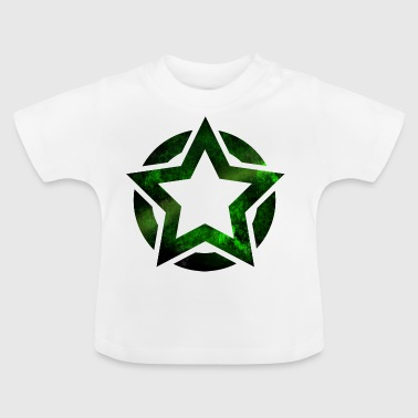 Star in circle green - Baby T-Shirt