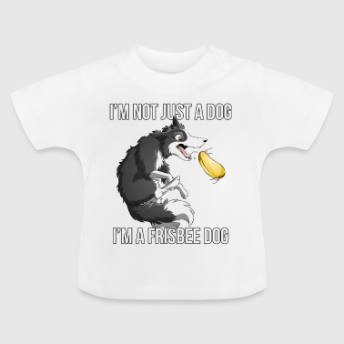 Ich bin ein Frisbee Dog - Border - Baby T-Shirt