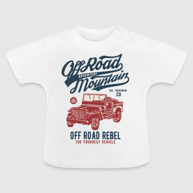 Off Road Jeep - Baby T-shirt