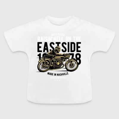 Raisin Hell Moto Racer2 - Baby T-Shirt