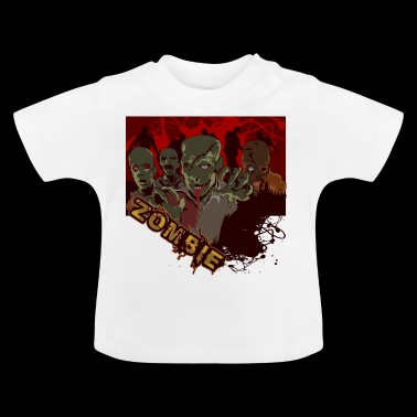 zombies - Camiseta bebé