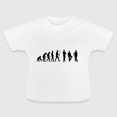 Evolution conference and meeting in the office - Baby T-Shirt