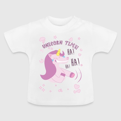 Funny Unicorn - Baby T-shirt