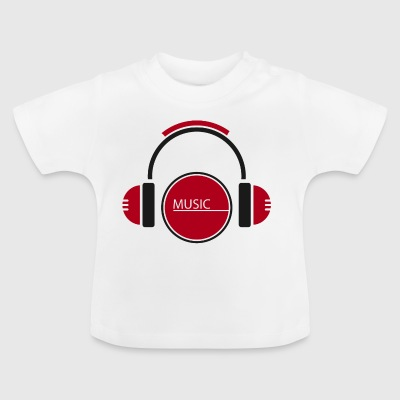 Equalizer Music Rhythm Sound Beats - Baby T-Shirt