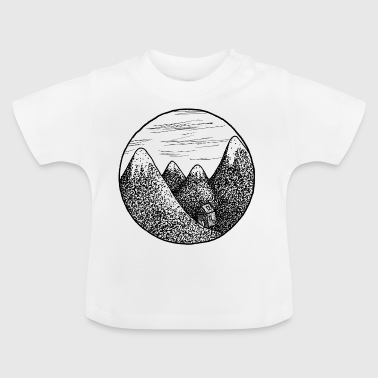 mountains - Baby T-Shirt