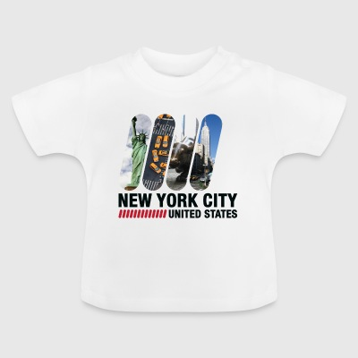 New York City, USA - Baby-T-shirt