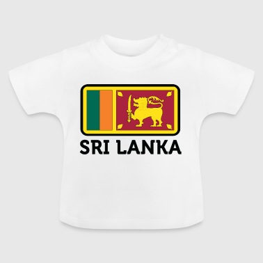 Nationalflagge von Sri Lanka - Baby T-Shirt