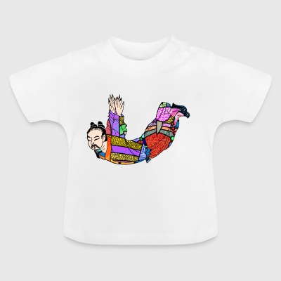 Chinese woodcut Qigong exercise - Baby T-Shirt
