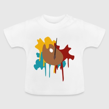 Malerpalette - Baby T-Shirt