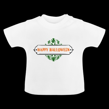 happy halloween - T-shirt Bébé