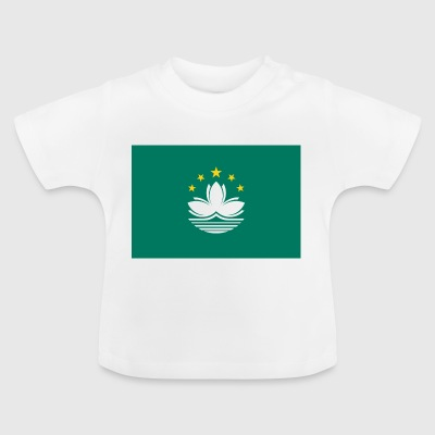Nationalflagge von Macau - Baby T-Shirt