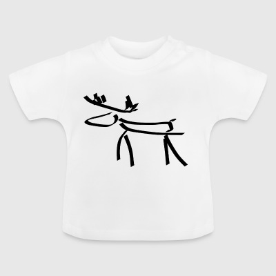 Moose two - Baby T-Shirt