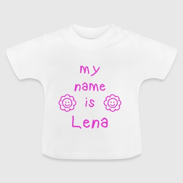 LENA MY NAME IS - Maglietta per neonato