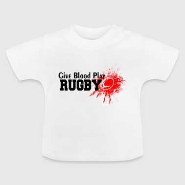 RUGBY - Baby-T-skjorte