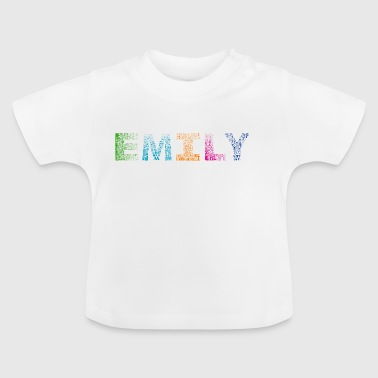 Emily Buchstabenname - Baby T-Shirt
