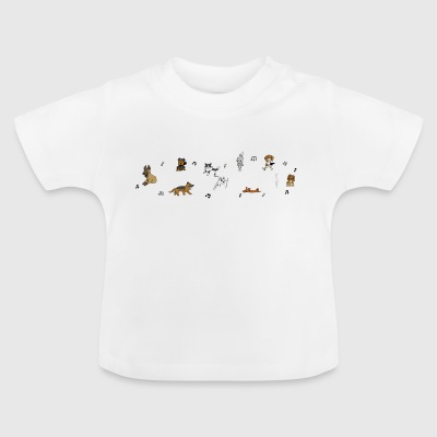 musical canine freestyle - Baby T-Shirt