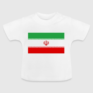 National Flag Of Iran - Baby-T-shirt