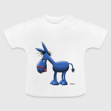 Enillo comic ass blue - Baby T-Shirt