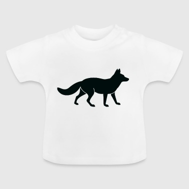 A-jagt Fox - Baby T-shirt