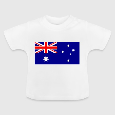 National Flag Of Australia - Baby-T-skjorte