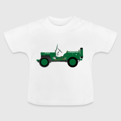 Army vehicle - Baby T-Shirt