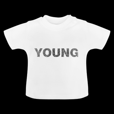 Young writing - Baby T-Shirt