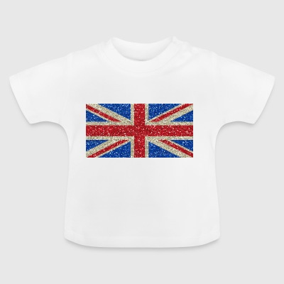 Great Britain flag flag Glitz homeland pride - Baby T-Shirt
